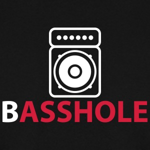 Basshole - Asshole Hoodies & Sweatshirts - Men's Sweatshirt