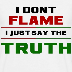 Flame Truth - Men's T-Shirt