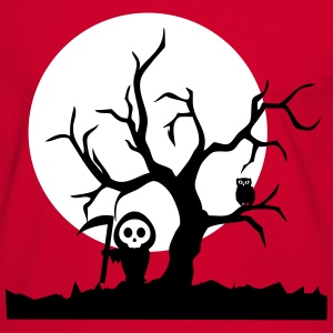 Spooky Night T-shirts - Herre kontrast-T-shirt