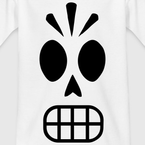Kinder Halloween Scary Totenkopf Skull Grusel Fun - Kinder T-Shirt