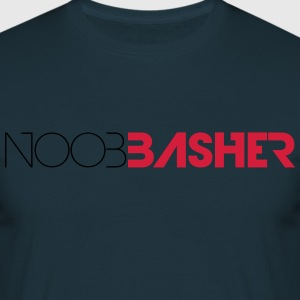 Noob Basher Logo T-Shirts - Men's T-Shirt