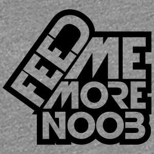 Logo Feed Me More Noob T-Shirts - Women's Premium T-Shirt