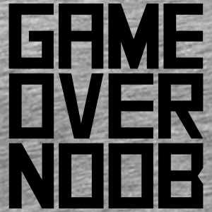 Game Over Noob T-Shirts - Men's Premium T-Shirt
