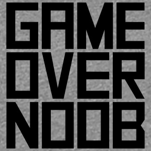 Game Over Noob T-shirts - Dame premium T-shirt