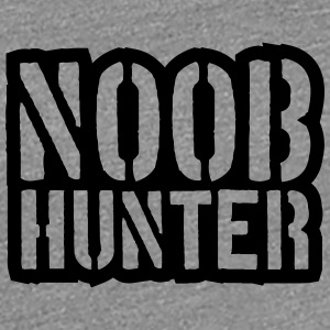 Shooter Noob Hunter logodesign T-skjorter - Premium T-skjorte for kvinner