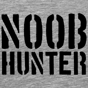 Shooter Noob Hunter logotyp T-shirts - Premium-T-shirt herr