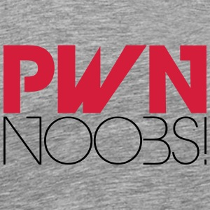 PWN Noobs T-Shirts - Men's Premium T-Shirt