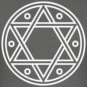 ✡ Hexagram, Magic, Merkaba, David Star, Solomon T-shirts - slim fit T-shirt