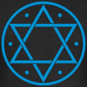 Hexagram, Magic, Merkaba, David Star, Yin Yang T-shirts - slim fit T-shirt