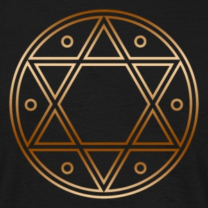 Seal of Solomon, Magic Sigil, hexagram, symbol T-shirts - Mannen T-shirt