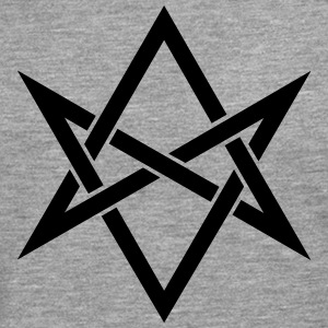 Unicursal hexagram, Golden Dawn, Kabbalah, Magick Long sleeve shirts - Men's Premium Longsleeve Shirt