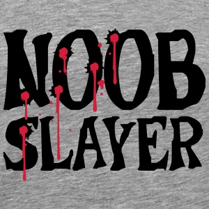 Noob Slayer Shooter T-skjorter - Premium T-skjorte for menn