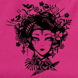 Geisha with extravagant hair accessories  Bags & Backpacks - Kids' Backpack