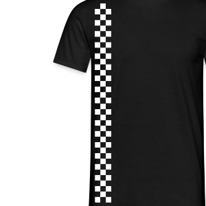 raceing stripes - Men's T-Shirt