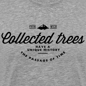 collected_tree_history Tee shirts - T-shirt Premium Homme