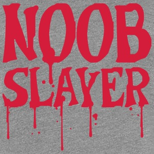 Noob Slayer Blood Shooter T-Shirts - Women's Premium T-Shirt