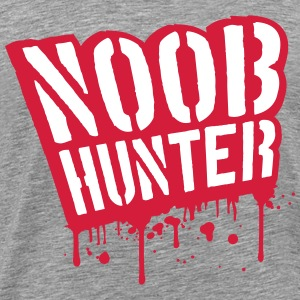 Noob Hunter Shooter Blut Tropfen Graffiti T-Shirts - Männer Premium T-Shirt