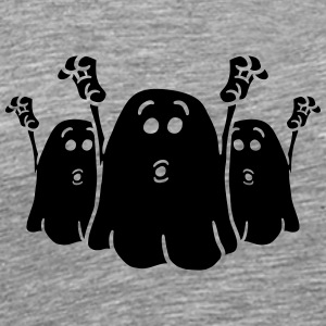 Team 3 cheeky little scary ghost T-Shirts - Men's Premium T-Shirt