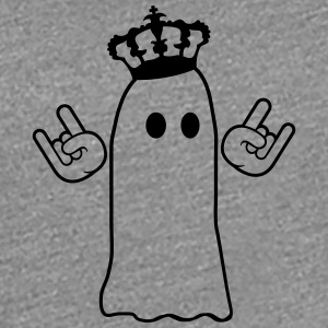 Crown metal hand sign rock ghosts T-Shirts - Women's Premium T-Shirt