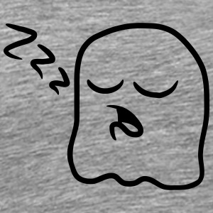 Sleeping tired snoring little ghost T-Shirts - Men's Premium T-Shirt