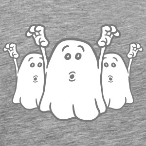 3 terrifying little naughty ghosts team T-Shirts - Men's Premium T-Shirt