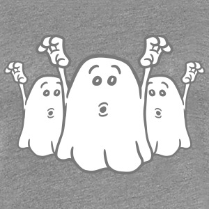 3 terrifying little naughty ghosts team T-Shirts - Women's Premium T-Shirt