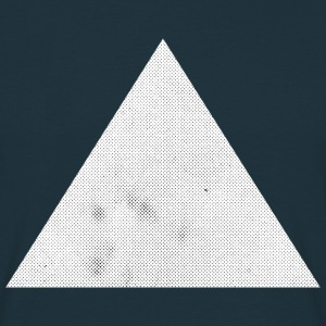 Triangle Halftone Tee shirts - T-shirt Homme