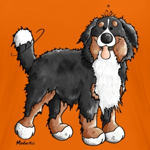 Happy Bernese Mountain Dog T-Shirts - Women's Premium T-Shirt