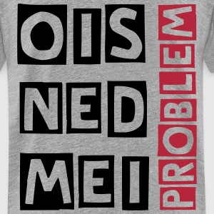 ois ned mei problem T-Shirts - Teenager Premium T-Shirt