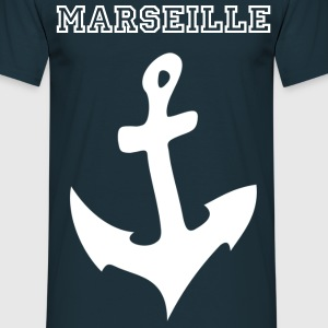 Ancre Marine Twisted + Town(editable) - Hommes - T-shirt Homme