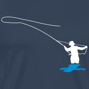 fly fishing T-shirts - Premium-T-shirt herr