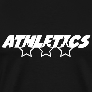 Athletics T-shirts - Mannen Premium T-shirt