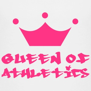 Queen of Athletics T-Shirts - Teenager Premium T-Shirt