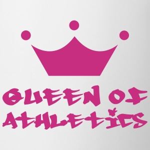Queen of Athletics Butelki i kubki - Kubek