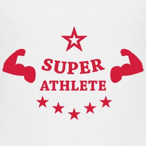 Super Athlete Athletics  T-shirts - Børne premium T-shirt