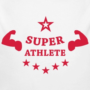 Super Athlete Athletics  Hoodies - Longlseeve Baby Bodysuit