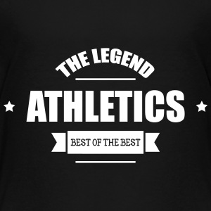 Athletics  T-shirts - Børne premium T-shirt