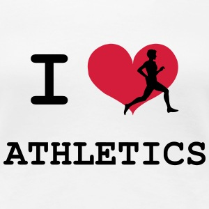 I Love Athletics  T-skjorter - Premium T-skjorte for kvinner