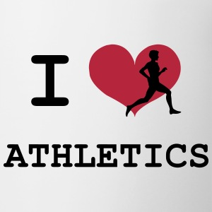 I Love Athletics  Botellas y tazas - Taza
