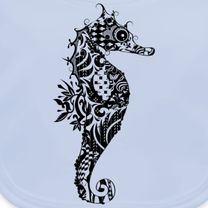 A fancy seahorse Accessories - Baby Organic Bib