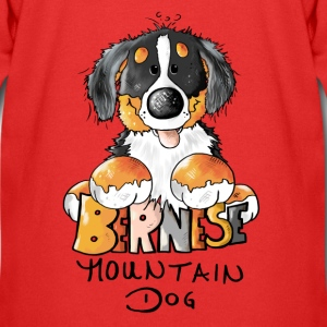 Cute Bernese Mountain Dog - Dogs Hoodies - Kids' Premium Zip Hoodie