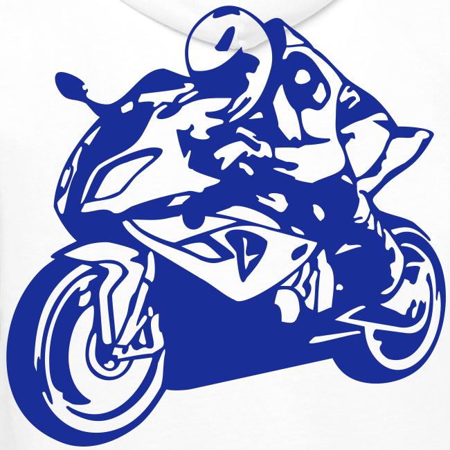 10586dc9 The Rider Shop | BMW S1000RR (Hoodie) - Herre Premium hættetrøje