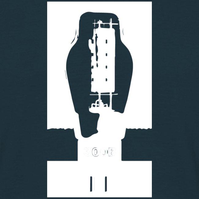 300B TUBE shirt - tube white