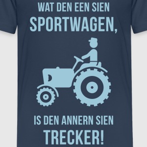 Dat is mien Trecker! (Plattdeutsch / Plattdüütsch) T-Shirts - Teenager Premium T-Shirt