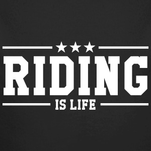 Riding is life Hoodies - Longlseeve Baby Bodysuit