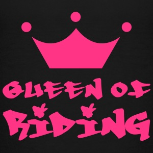 Queen of Riding Shirts - Teenage Premium T-Shirt