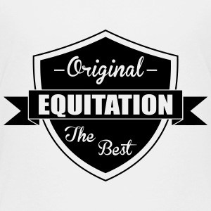 Equitation T-Shirts - Teenager Premium T-Shirt