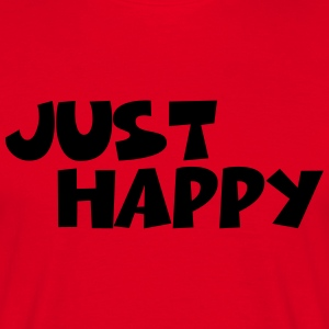 Just happy T-shirts - T-shirt herr