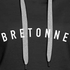 bretonne Sweat-shirts - Sweat-shirt à capuche Premium pour femmes