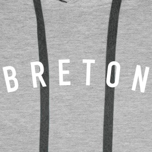 breton Sweat-shirts - Sweat-shirt à capuche Premium pour hommes